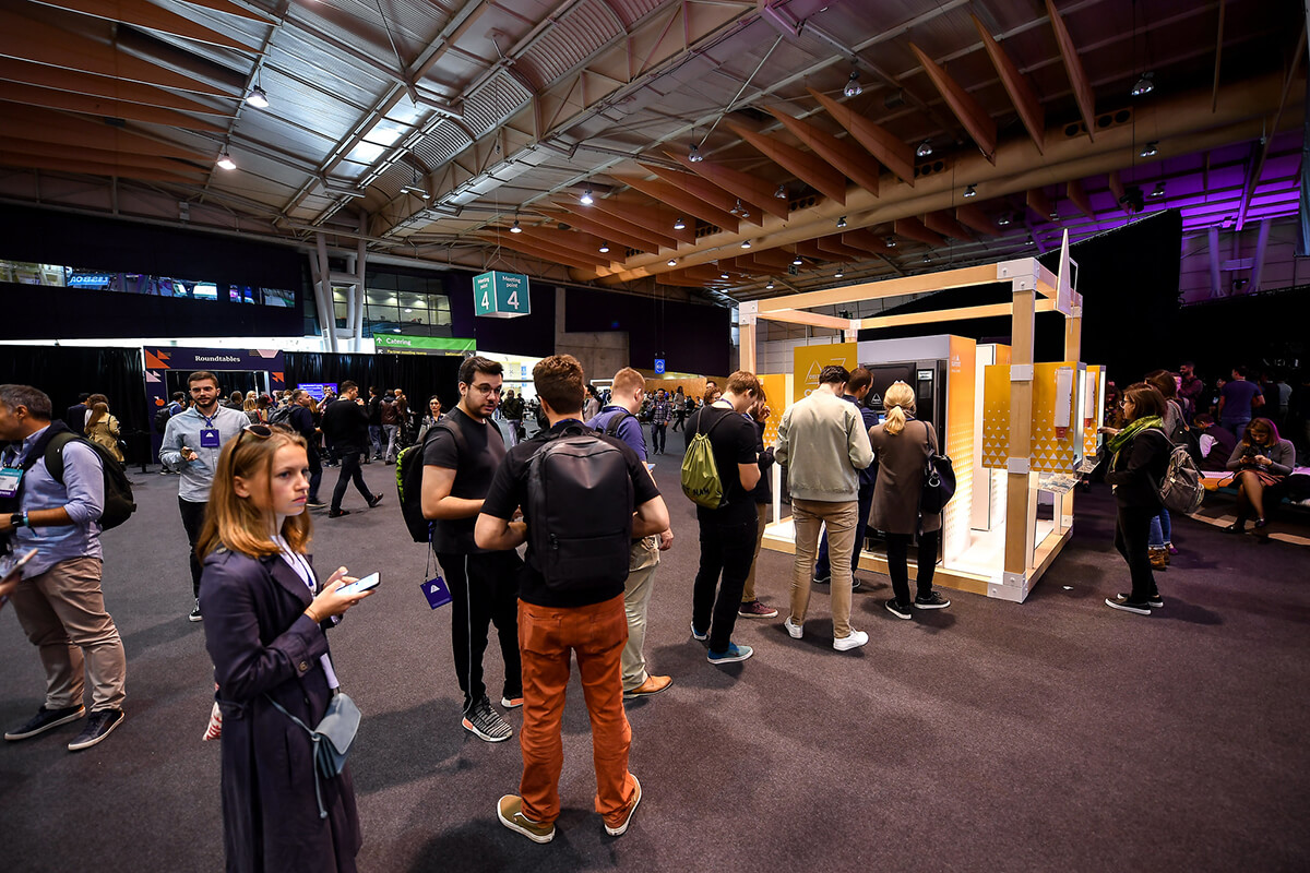 Photo by WebSummit